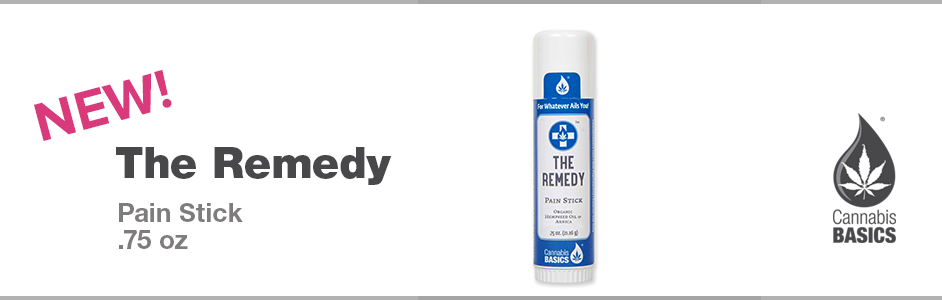 New Featured Hemp Product—The Hemp Remedy Stick
