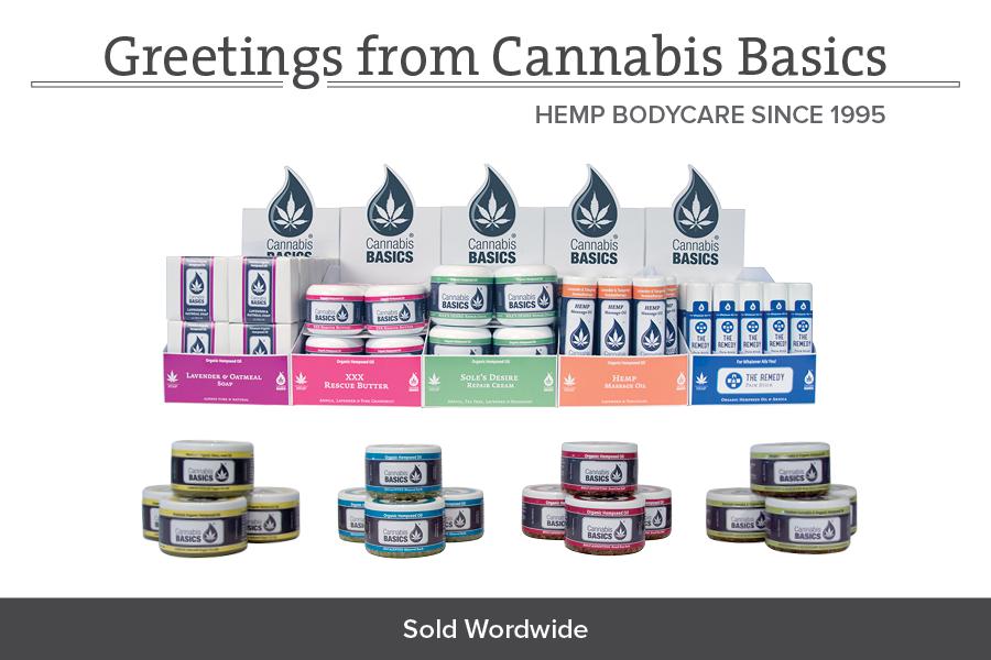 Cannabis Basics Hemp Product Line
